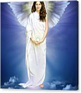 Angel Of Pure Light Canvas Print