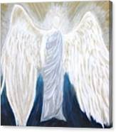 Angel Of Salvation Canvas Print