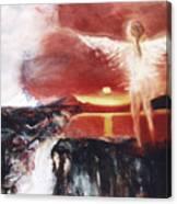 Angel Of The Yucatan Canvas Print