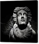 Angel On The Wall Canvas Print