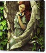 Angel Oriphiel Canvas Print