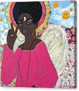 Angel Peace-n-love-n-stuff Canvas Print