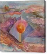 Angel Sphere Canvas Print