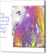Angel Vision Canvas Print