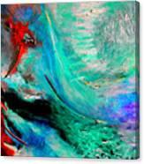 Angel Vortex Canvas Print
