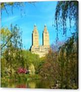 Perfect Morning In The Park Canvas Print