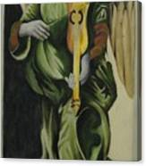 Angel With Violin Canvas Print