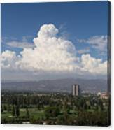 Angeles National Park And Lakeside Golf Club In Southern California Dsc3585sq Canvas Print