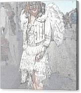 Angelic Goth Canvas Print