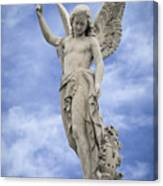 Angelic Peace And Beauty Canvas Print