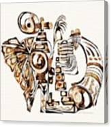 Angelic Tube 3637 Canvas Print