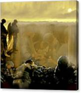 Angels And Brothers Canvas Print