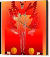 Angels - Archangel Sariel Canvas Print