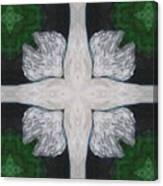 Angel's Cross Canvas Print