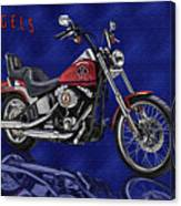 Angels Harley - Oil Canvas Print