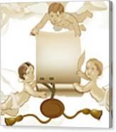 Angels Invitation Canvas Print