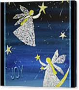 Angels, Joy, Lucky Stars Canvas Print