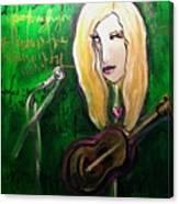 Angie Stevens Solo Canvas Print