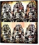 Angkor Warhol #1.2 Canvas Print