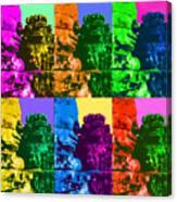 Angkor Warhol #2 Canvas Print