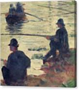 Anglers Canvas Print