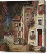 Angolo Buio Canvas Print