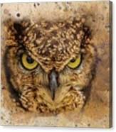 Angry Bird Canvas Print