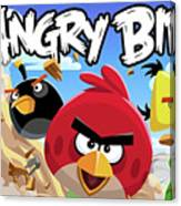 Angry Birds Canvas Print