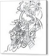 Angry Fairy Canvas Print