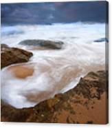 Angry Sea Canvas Print