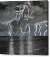 Angry Skies Canvas Print