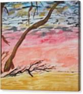 Angry Sky Canvas Print