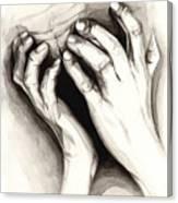 Anguish #2 Canvas Print