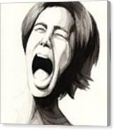 Anguish #3 Canvas Print