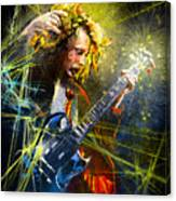 Angus Young Canvas Print