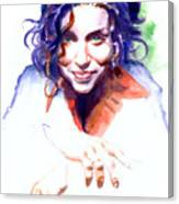 Ani Difranco Canvas Print