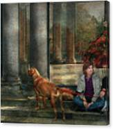 Animal - Dog - Hello There Canvas Print
