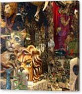 Animal Masks From Venice Canvas Print