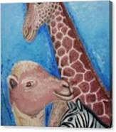 Animals Ladies Canvas Print
