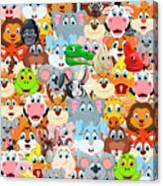 Animals Zoo Canvas Print