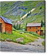 Animas Forks Ghost Town Canvas Print