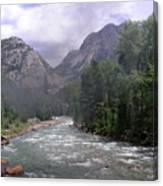 Animas River Morning Canvas Print