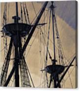 Animated Masts Canvas Print