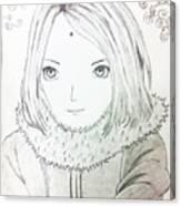 Anime Drawing  Canvas Print