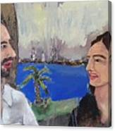 Anita And I Canvas Print