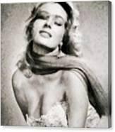 Anita Ekberg, Hollywood Legend By John Springfield Canvas Print