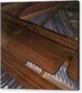 Anita's Piano 2 Canvas Print
