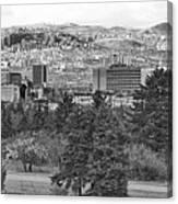 Ankara - Bw Canvas Print