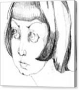 Anna. 1999 Canvas Print