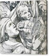 Anna, Elizabeth And Anne Canvas Print
